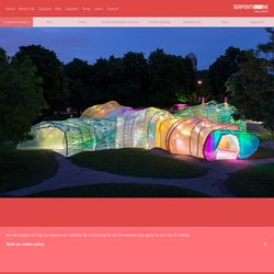 Serpentine Pavilion 2015 designed by selgascano