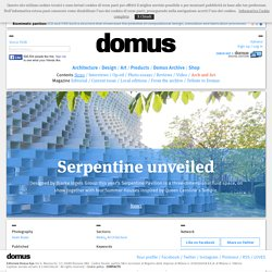Serpentine unveiled