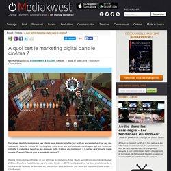 A quoi sert le marketing digital dans le cinéma ?