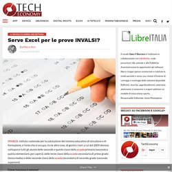 Serve Excel per le prove INVALSI?