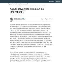 A quoi servent les livres sur les innovations ?