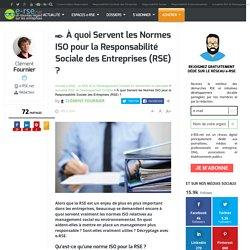 À quoi servent les normes ISO dans le cadre de la RSE ?