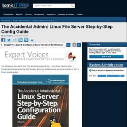 Linux Server Step-by-Step Configuration Guide - Book Excerpt