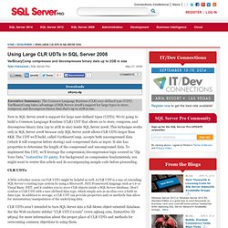 Development content from SQL Server Pro