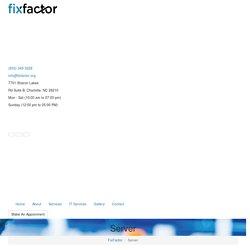 Server - FixFactor