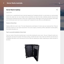 Server Rack in Sydney