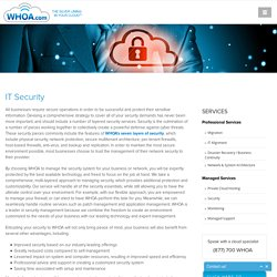 Cloud Server Security, IT Security Solutions