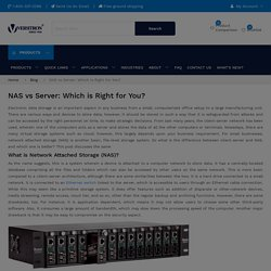 NAS vs Server: Which is Right for You?