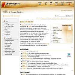 Serverdienste › Wiki › ubuntuusers.de