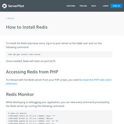 How to Install Redis