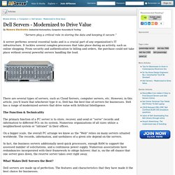 Dell Servers - Modernized to Drive Value by Newera Electronics