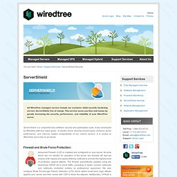ServerShield Server Hardening and Optimization | Server Hardening | WiredTree