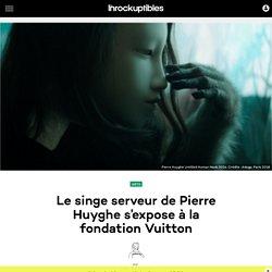 Le singe serveur de Pierre Huyghe s'expose à la fondation Vuitton