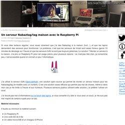 Un serveur Nabaztag/tag maison avec le Raspberry Pi