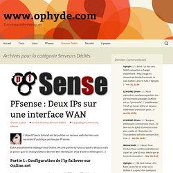 Serveurs Dédiés Archives - www.ophyde.com