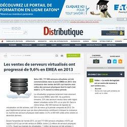 La virtualisation des serveurs progresse en Europe en 2013