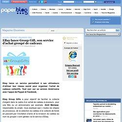 EBay lance Group Gift, son service d'achat groupé de cadeaux