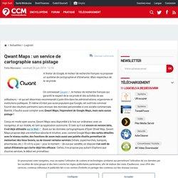 Qwant Maps : un service de cartographie sans pistage
