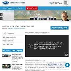 Ford Car Service Centres Sydney