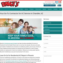 AC Repair & AC Service Chandler AZ