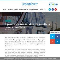 Lyon teste un service de minibus sans chauffeur