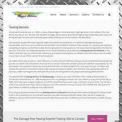 Towing Service in Amherst