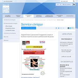 Service civique | Ville de Reims : site officiel