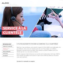 Le service à la clientèle ALDO