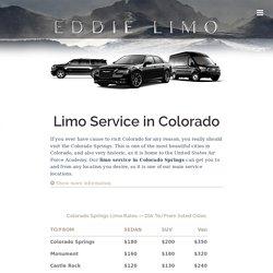 Limo Service in Colorado, Limousine Rental Colorado Springs