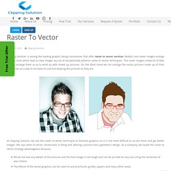 Raster to Vector Conversion Service Provider