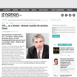 CIO... as a Service : devenir courtier de services Cloud