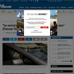 """""""Le service d'Uber s'est dégradé en trois ans"""" (Pascal Terrasse)"""