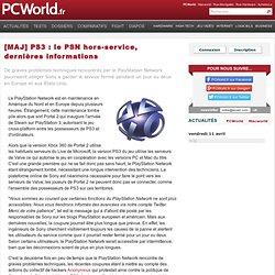 [MAJ] PS3 : le PSN hors-service, dernières informations
