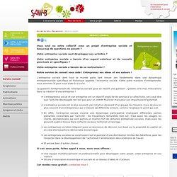 Service conseil - Economie sociale - SAW-B Fédération d'économie sociale