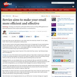 Service aims to make your email more efficient and effective