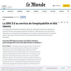 La DRH 3.0 au service de l'employabilité et des talents