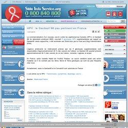 HPV : le Gardasil 9® peu pertinent en France