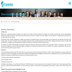 Service Industries – Office365