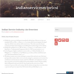 Indian Service Industry: An Overview – indianservicesectoricsi