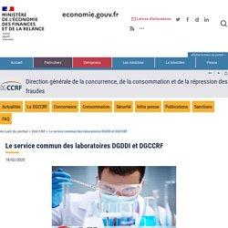 DGCCRF 23/09/16 Le service commun des laboratoires DGDDI et DGCCRF