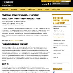Center for Service Learning & Leadership — Purdue North Central