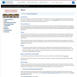 LC Linked Data Service (Library of Congress)