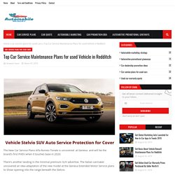 Top Car Service Maintenance Plans for used Vehicle in Redditch