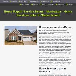 Home Repair Service Bronx
