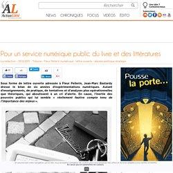 Pour un service numérique public du livre et des littératures