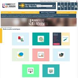 Service aux Usagers du Numérique - Boîte à outils numériques