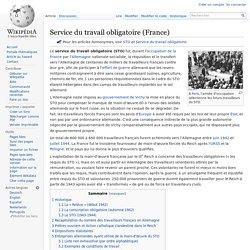 Service du travail obligatoire (France)