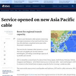 Service opened on new Asia Pacific cable - Telco/ISP - iTnews