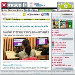 Folios - Application nationale gratuite au service de tous les parcours éducatifs