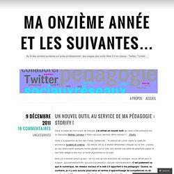Un nouvel outil au service de ma pédagogie : Storify !